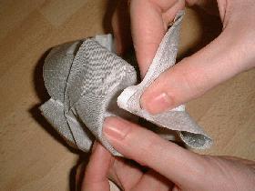 Lapin   pliage serviette