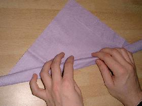 Pliage des serviettes Oeuf-de-soiree-f108-t2