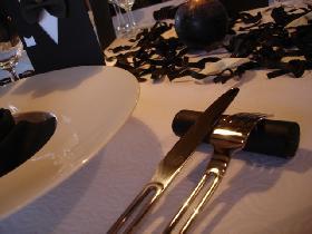 Table chic italienne dresser la table - Dresser table couverts ...