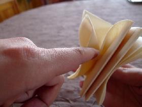 Etoile   pliage serviette