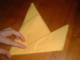 ramener le c?té droit du triangle vers le centre