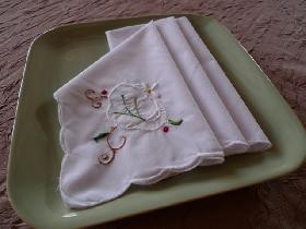 Pliage de serviette portefeuille